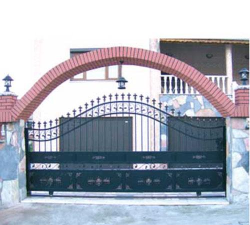 BHK 201 Ferforje Bahçe Kapı