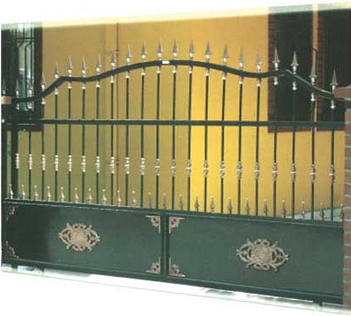 GRR 301 Ferforje Garaj Raylı Kapı